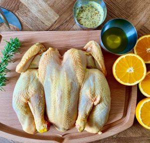 Recette de poulet boucané